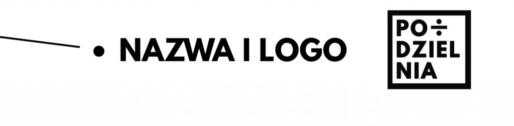 Jak zrobić podzielnię? : nazwa i logo